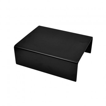 Dalebrook Black Melamine Standard Riser w/sf 300x250x100mm