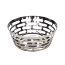Sensation Mirror Stainless Steel Round Fruit Basket