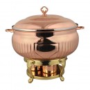 Queen Anne Rose Gold Chafing Dish 3.5L