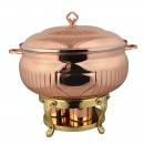 Queen Anne Rose Gold Chafing Dish 10L