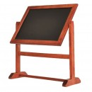 Securit Twister Table Chalk Board - 360 Degree Rotating A5 Double Sided