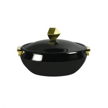 Zahara Titanium Finish Chafing Dish