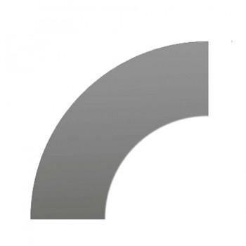 Riser Platform Black Acrylic Board Curved