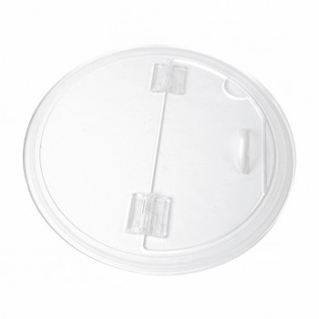 Dalebrook Clear Acrylic Barrel Bowl Lid
