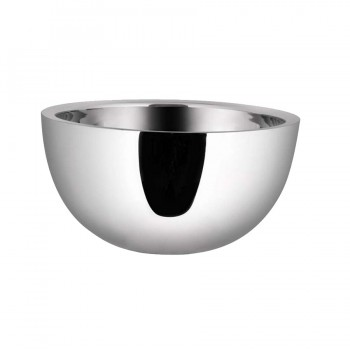 Dobbelt Mirror Stainless Steel Double Wall Insulated Round Revere Bowl
