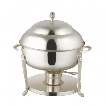 Monarch Mirror Stainless Steel Chafing Dish Round