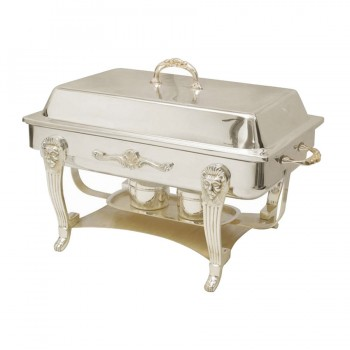 Monarch Mirror Stainless Steel Chafing Dish Rectangular