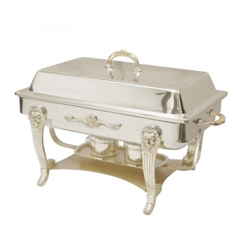 Monarch Silver Plated Chafing Dish Rectangular