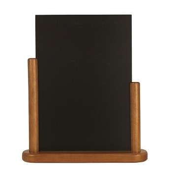 Teak Elegant large table chalk board Wood with lacquered Teak finish