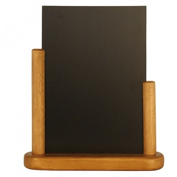 Teak Elegant medium table chalk board Wood with lacquered Teak finish