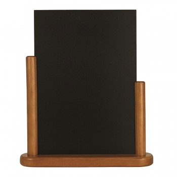 Teak Elegant small table chalk board Wood with lacquered Teak finish