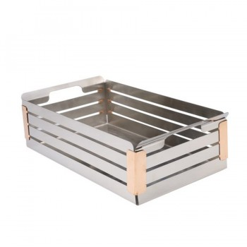 Crate Mirror Stainless Steel Fruit Basket