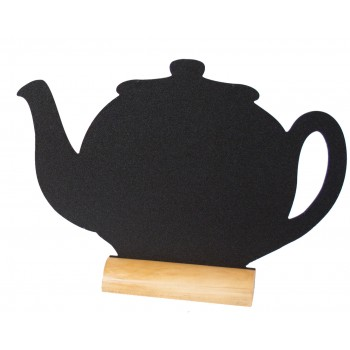 Silhouette Table Chalk Board - 3X Tea Pot Mini Including 1 Chalk Marker