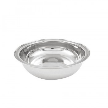 Stainless Steel Round Food Pan for 3 L Chafers