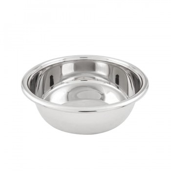 Stainless Steel Round Food Pan for 6 L Chafers