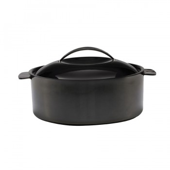 Skyserv Induction Titanium Finish Round Dutch Oven with Lid