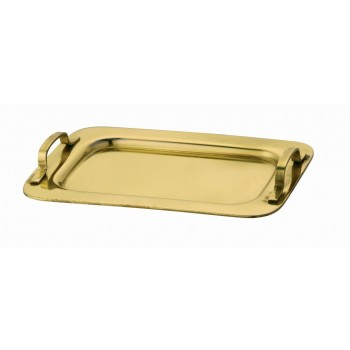 MiniBytes Gold Finish Tray