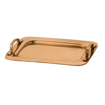 Mini Byte Copper Finish Tray