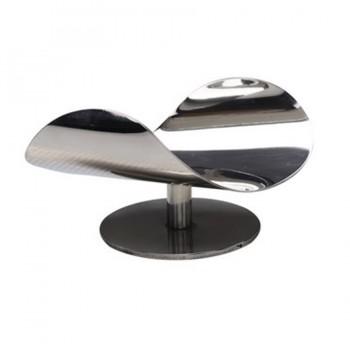 MiniBytes Mirror Stainless Steel Pedestal Stand