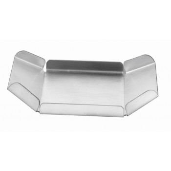 MiniBytes Brushed Stainless Steel Boat