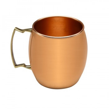 Moscow Mule Mug Copper Finish Belly