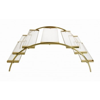 Venice Gold Finish Bridge Riser Extra Large