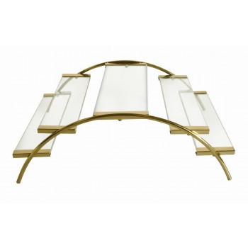 Venice Gold Finish Bridge Riser Large
