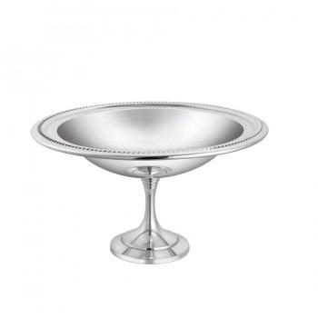 Bead Mirror Stainless Steel Round Pedestal Mint Dish