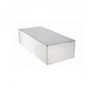 Sticky Blocks Magnetic Brushed Stainless Steel Riser