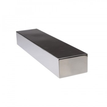 Sticky Blocks Magnetic Brushed Stainless Steel Riser XL