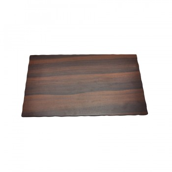 Skyra Melamine Rectangular Board in Wooden Finish