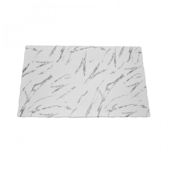 Skyra Melamine Rectangular Board in Marble Finish