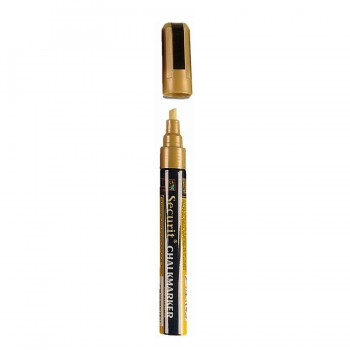 Chalk Marker - Gold - Medium - 2-6mm Nib