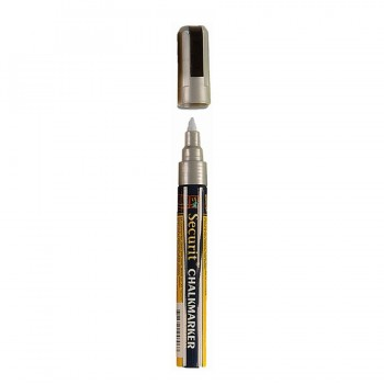 Chalk Marker - Silver - Medium 2-6mm Nib