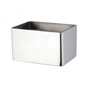Curvo Dual Polish Stainless Steel Sugar Packet Holder
