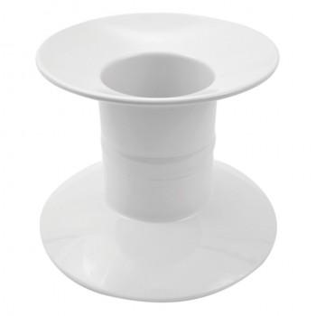 Dalebrook White Melamine Pedestal Stand