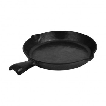 Dalebrook Black Small Skillet Plate