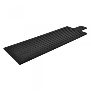 Dalebrook Black Melamine 2/4 Stave Paddle Platter