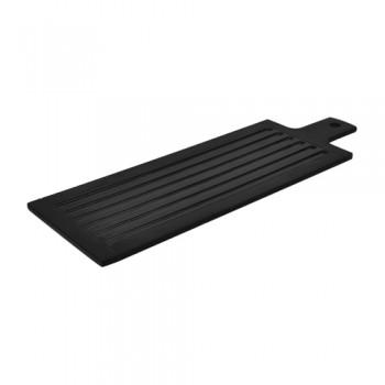 Dalebrook Black Melamine Stave Paddle Platter