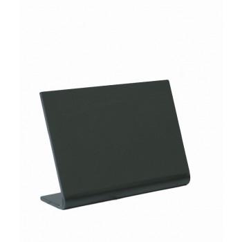 Vertical L-shaped A6 table chalk board. Frosted front with a gloss back - 3 pcs.