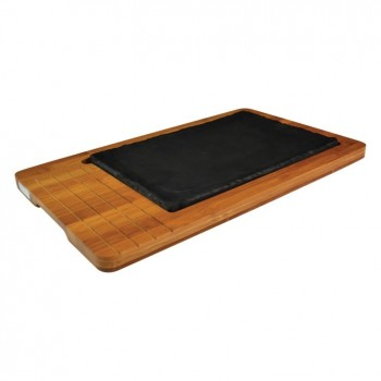 Bamboo Rectangular Tray with Platter