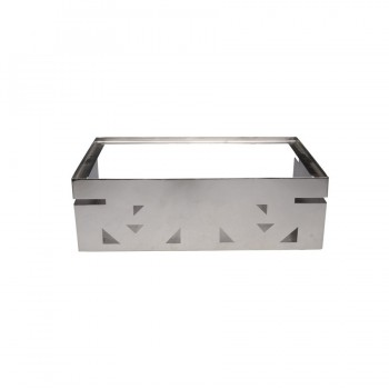 Fat Free Mirror Stainless Steel Modular Buffet Station GN 1/1 (Stand only)