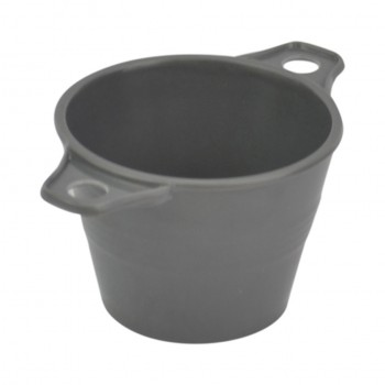 Dalebrook Grey Melamine Ranch Pot