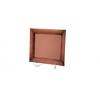 Serenity Hammered Burnt Copper Finish Tray
