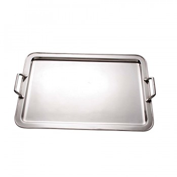 Savoy Silverplate Rectangular Tray with Handles