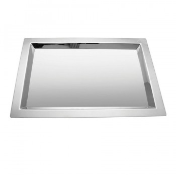 Brooklyn Mirror Stainless Steel Rectangular Tray