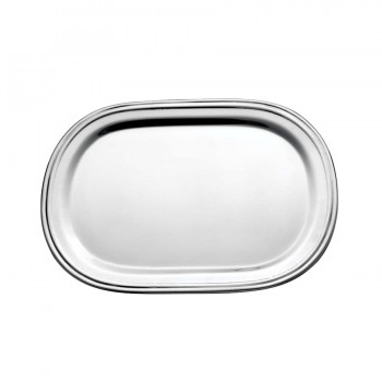 Basic Mirror Stainless Steel Oval Mini Tray