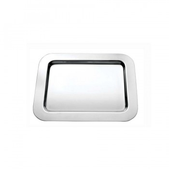 Basic Mirror Stainless Steel Rectangular Mini Tray