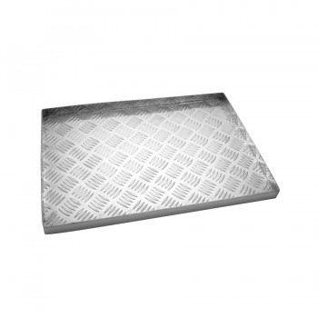 Basic Aluminum Diamond Square Tray