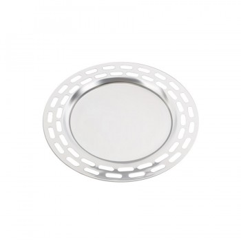 Sensation Mirror Stainless Steel Modern Round Tray